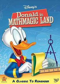 Donald in Mathmagic Land - (Region 1 Import DVD)