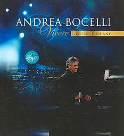 Andrea Bocelli/blu-ray - Vivere - Live In Tuscany (Blu-Ray)