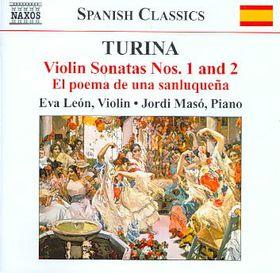 Turina: Music For Violin & Piano - Leon/maso (CD)