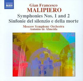 Malipiero: Symphonies Vol 2 - Moscow So/de Almeida (CD)