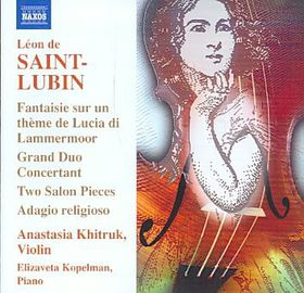 Saint-lubin - Works For Violin (CD)