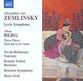 Zemlinsky/berg: Lyric Sym/suite - Robinson/houston So/graf (CD)