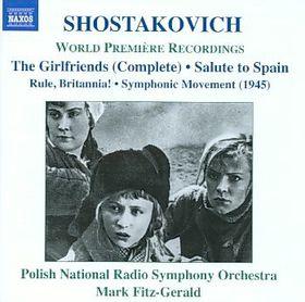 Shostakovich: The Girlfriends - Polish National Rso/fitzgerald (CD)