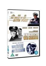 The Battle of the River Plate / In Which We Serve / We Dive at Dawn - (Import DVD)