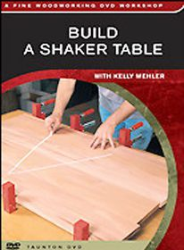 Build a Shaker Table - (Region 1 Import DVD)