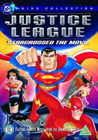 Justice League StarCrossed The Movie (DVD)