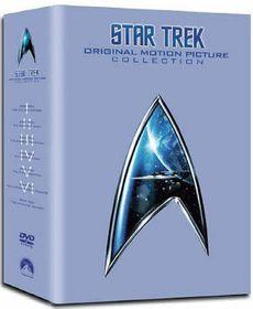 Star Trek: The Movies 1-6 (Box Set) - (Import DVD)