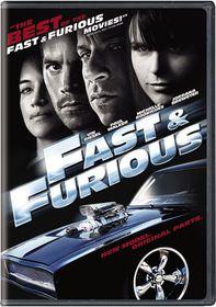 Fast & Furious - (Region 1 Import DVD)