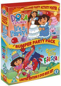 Dora the Explorer: Bumper Party Pack - (Import DVD)