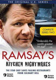 Ramsay's Kitchen Nightmares Series 2 - (Region 1 Import DVD)