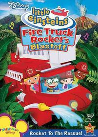 Fire Truck Rockets Blastoff - (Region 1 Import DVD)