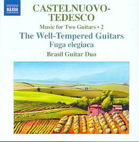 Castelnuovo-tedesco: Music For Two Guitars - Music For Two Guitars (CD)
