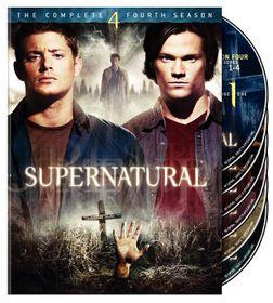 Supernatural:Fourth Season - (Region 1 Import DVD)