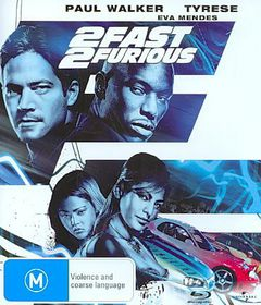 2 Fast, 2 Furious - (Australian Import Blu-ray Disc)