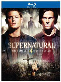 Supernatural:Fourth Season - (Region A Import Blu-ray Disc)