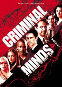 Criminal Minds:Fourth Season - (Region 1 Import DVD)