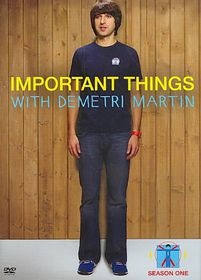 Important Things with Demetri Martin: - (Region 1 Import DVD)