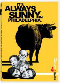 It's Always Sunny in Philadelphia Season 4 - (Region 1 Import DVD)