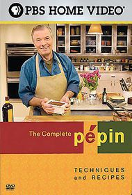 Complete Pepin:Techniques and Recipes - (Region 1 Import DVD)