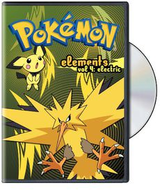 Pokemon Elements V4:Electric - (Region 1 Import DVD)