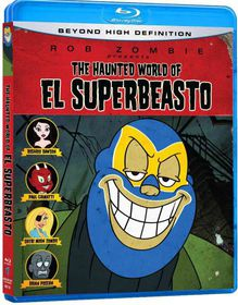 El Superbeasto - (Region A Import Blu-ray Disc)