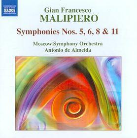 Malipiero: Symphonies Vol 3 - Symphonies - Vol.3 (CD)