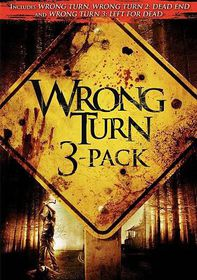 Wrong Turn 3 Pack - (Region 1 Import DVD)
