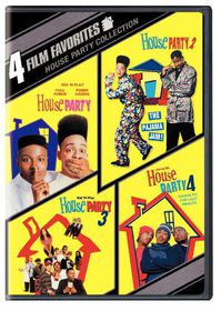 4 Film Favorites:House Party Collecti - (Region 1 Import DVD)