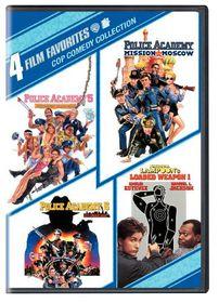 4 Film Favorites:Cop Comedy - (Region 1 Import DVD)
