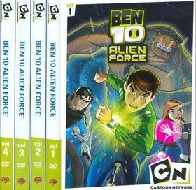 Ben 10 Alien Force:Vols 1-4 - (Region 1 Import DVD)