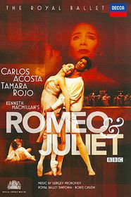 Romeo & Juliet - (Region 1 Import DVD)