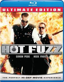 Hot Fuzz - (Region A Import Blu-ray Disc)