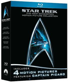 Star Trek: The Next Generation Motion Picture Collection - (Region A Import Blu-ray Disc)