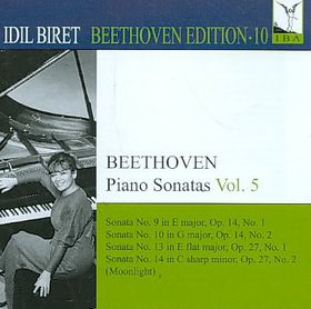Beethoven: Piano Sonatas Vol 5 - Piano Sonatas - Vol.5 (CD)