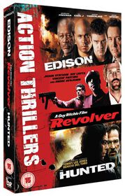 Edison/Revolver/The Hunted - (Import DVD)