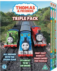 Thomas the Tank Engine and Friends: Triple Pack - (Import DVD)