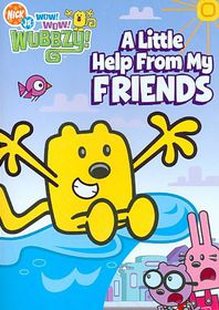 Wow Wow Wubbzy:Little Help from My Fr - (Region 1 Import DVD)