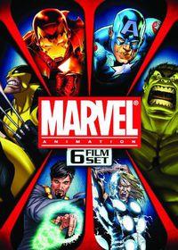 Marvel Animation 6 Film Set - (Region 1 Import DVD)
