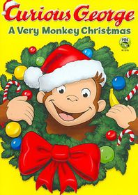 Curious George:Very Monkey Christmas - (Region 1 Import DVD)