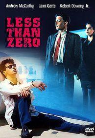 Less Than Zero - (Region 1 Import DVD)