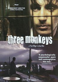 Three Monkeys - (Region 1 Import DVD)