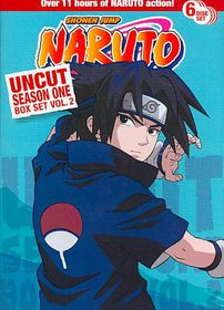 Naruto Uncut Ssn1 Box Set V2 - (Region 1 Import DVD)