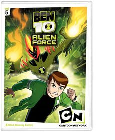 Ben 10 Alien Force:V5 - (Region 1 Import DVD)
