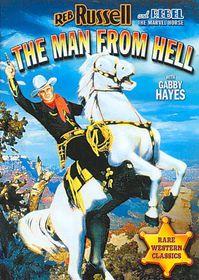 Man from Hell - (Region 1 Import DVD)