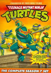 Teenage Mutant Ninja Turtles Season 7 - (Region 1 Import DVD)