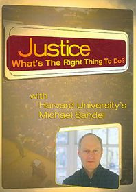 Justice:What?S the Right Thing to Do - (Region 1 Import DVD)