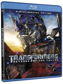 Tranformers:Revenge of the Fallen - (Region A Import Blu-ray Disc)