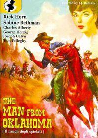Man from Oklahoma - (Region 1 Import DVD)