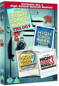 High School Musical 1-3 - (Import DVD)