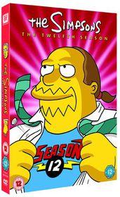 The Simpsons: Season 12 - (Import DVD)